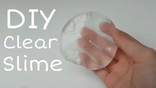 DIY Clear Slime || DIY Slime deutsch || Slime selber machen ohne Boraxpulver,Washmittel || DIY 4 You