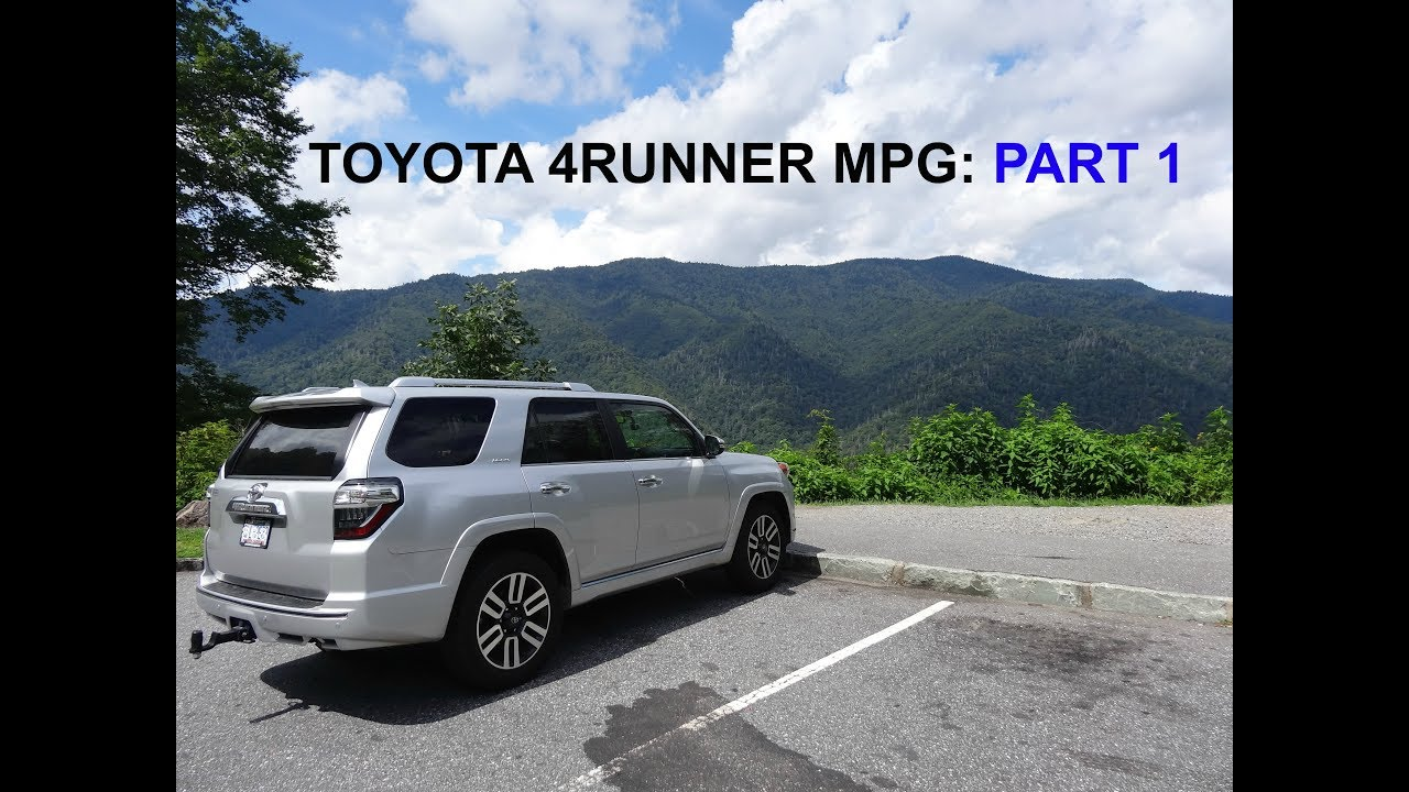 Toyota 4runner MPG