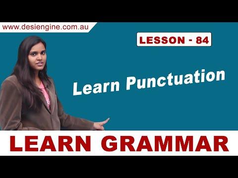 Lesson - 84 Learn Punctuation | Learn English Grammar | Desi Engine India