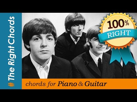 The Beatles - Let it be CHORDS | #TheRightChords