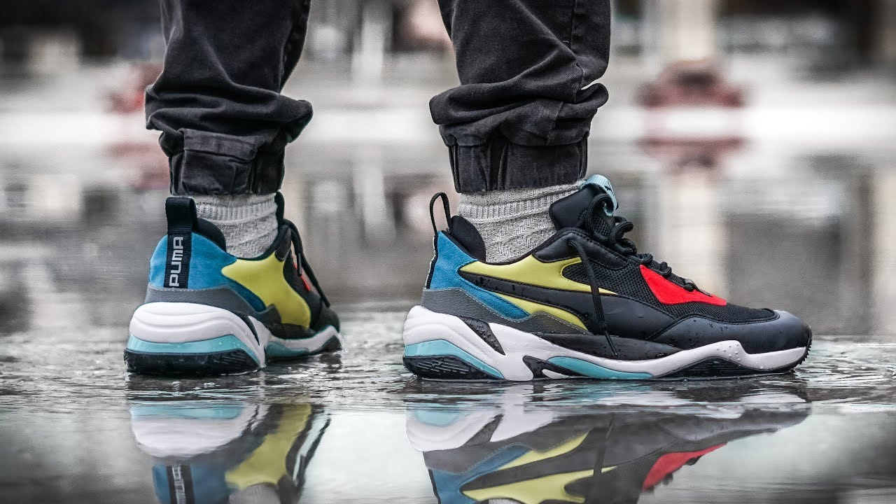 reputable site f376d 61561 Puma Just BROKE THE INTERNET   PUMA THUNDER SPECTRA ON FOOT REVIEW