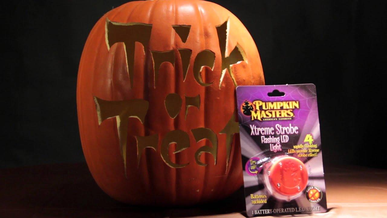 pics How to Light a Pumpkin for Halloween