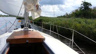 Liveaboard Sailboat Cruising -- (Sailing High Seas) Ep3
