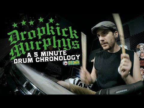Dropkick Murphys: A 5 Minute Drum Chronology - Kye Smith [4K]