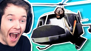 Granny has a HELICOPTER?!