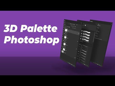 ЭТО поможет Вам создать оформление в Фотошопе. Скачать 3D Палитры