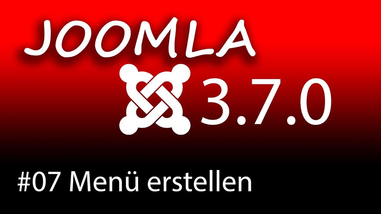 homepage erstellen mit joomla 3 7 ein men erstellen und eine modulposition zuweisen 1080p hd. Black Bedroom Furniture Sets. Home Design Ideas