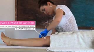 depilación de las piernas ● depilarse de las piernas ● sugaring de las piernas