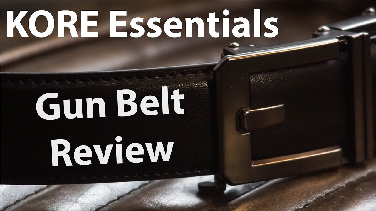 Kore Essentials Edc Gun Belt Unboxing Review Leather Tactical Kore Series Belts Youtube I loved this belt so much i bought another from keybar. youtube