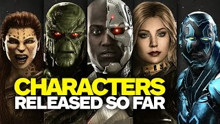Every Injustice 2 Character Revealed So Far - February 2017