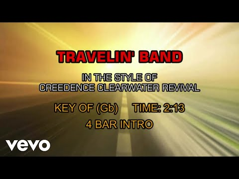 Creedence Clearwater Revival - Travelin' Band (Karaoke) Mp3