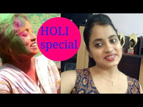 Holi Skin Care and Hair care  Tips //  Holi special effective beauty hacks