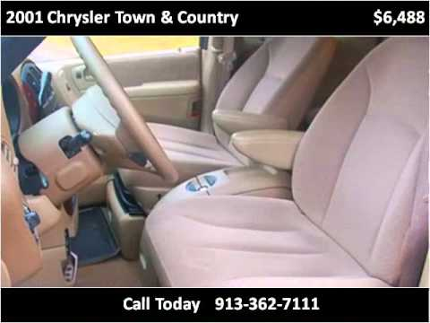 2001 Chrysler Town & Country Used Cars Merriam KS