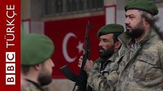 BBC Azez'de: Zeytin Dalı Harekatı sürerken kentten özel görüntüler