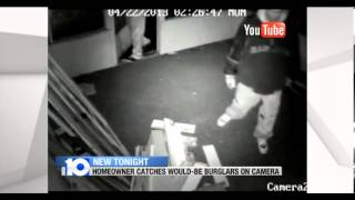 Attempted Burglary Caught on Camera