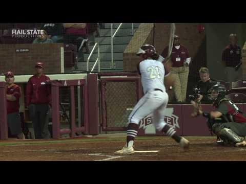 Softball in 60 vs Arkansas- 04/24/17