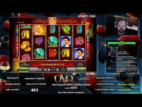 Royal Dynasty Slot Gives Really Nice Win!!