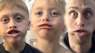 RIDICULOUS  LIP TRICK CHALLENGE!!