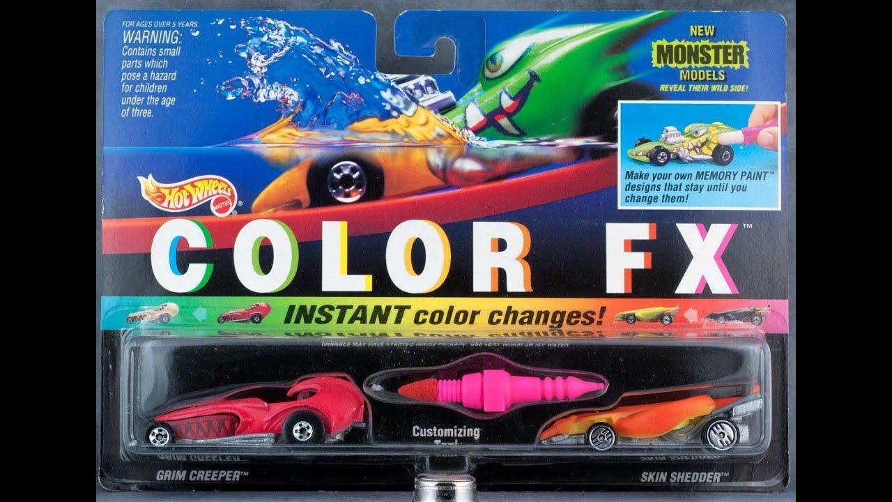 Hot Wheels Color Fx Color Changers 1993