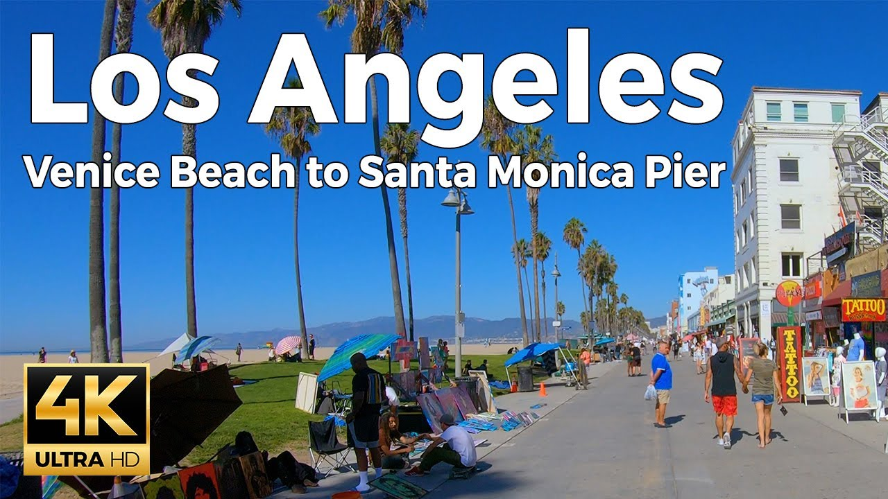 Venice Beach To Santa Monica Pier