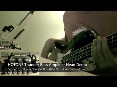Hotone Thunder Bass Amplifier Head