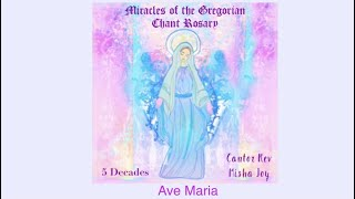 """Ave Maria from """"Miracles of the Gregorian Chant Rosary"""" with words to follow [Ave Maria Records]"""