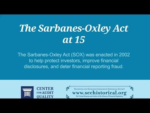 benefits of the sarbanes oxley act It has been 15 years since the sarbanes-oxley act became law, and while many organizations have settled into complying with its requirements, the compliance process continues to not only be dynamic, but also a subject of ongoing interest.