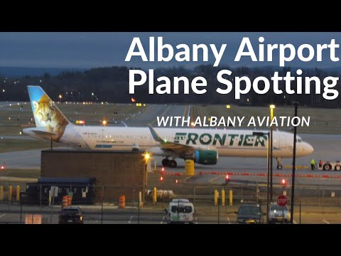 Plane Spotting at Albany Airport (ALB) with Albany Aviation!