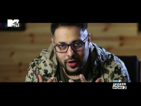 The Story behind Driving Slow | Badshah | Panasonic Mobile MTV Spoken Word 2