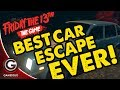 BEST CAR ESCAPE EVER ON FRIDAY THE 13TH GAME!
