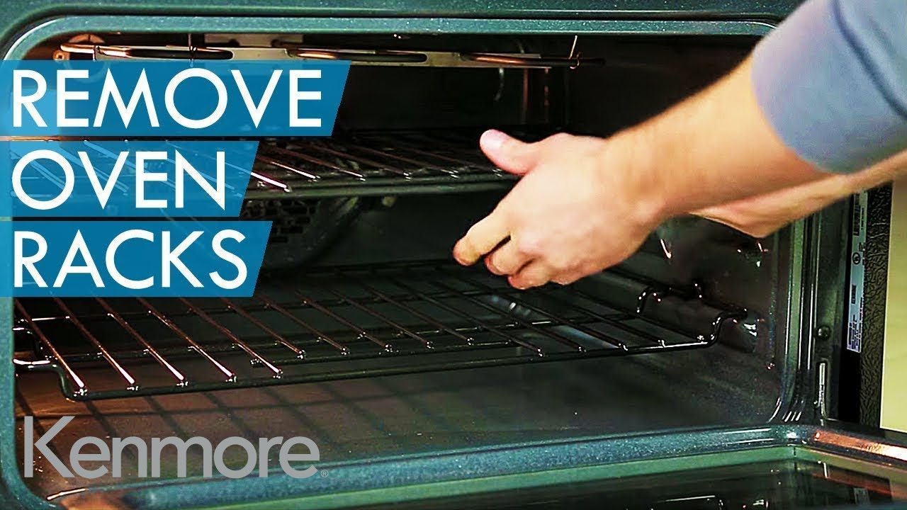 How To Remove Oven Racks Kenmore Elite Double Oven Youtube