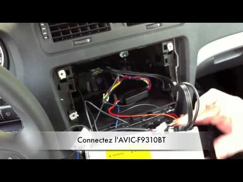 Pioneer AVICF9310BT Installation SKODA Octavia - YouTube