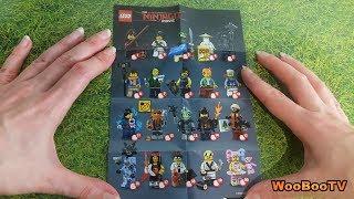 LASTENOHJELMIA SUOMEKSI - Lego The Ninjago movie - minifigures esittely - osa 7