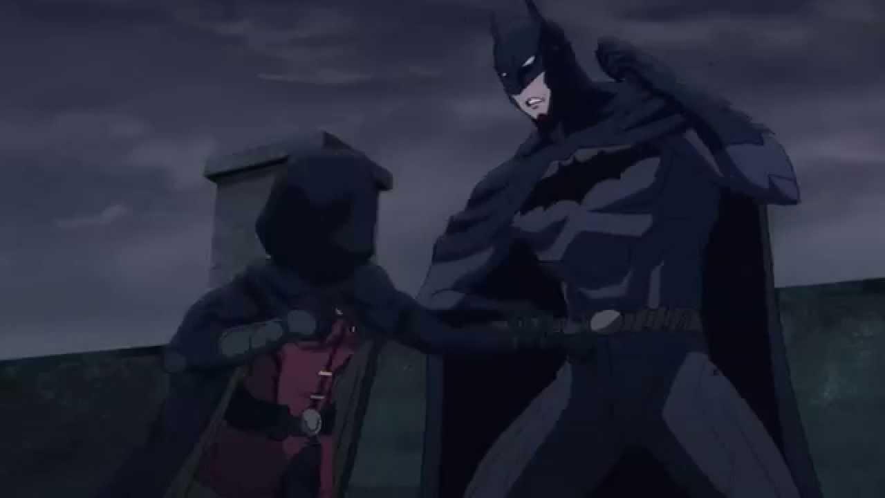 Download Robin Fights Batman For Talon: Batman vs. Robin