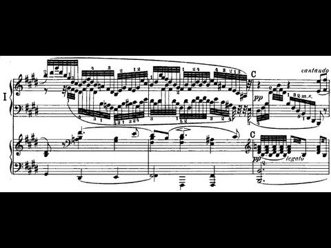 Hamelin plays Mendelssohn - Piano Concerto No. 1 Audio + Sheet music