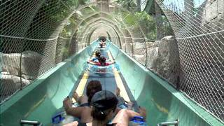 LIft to Ziggurat at Aquaventure, Atlantis Dubai POV