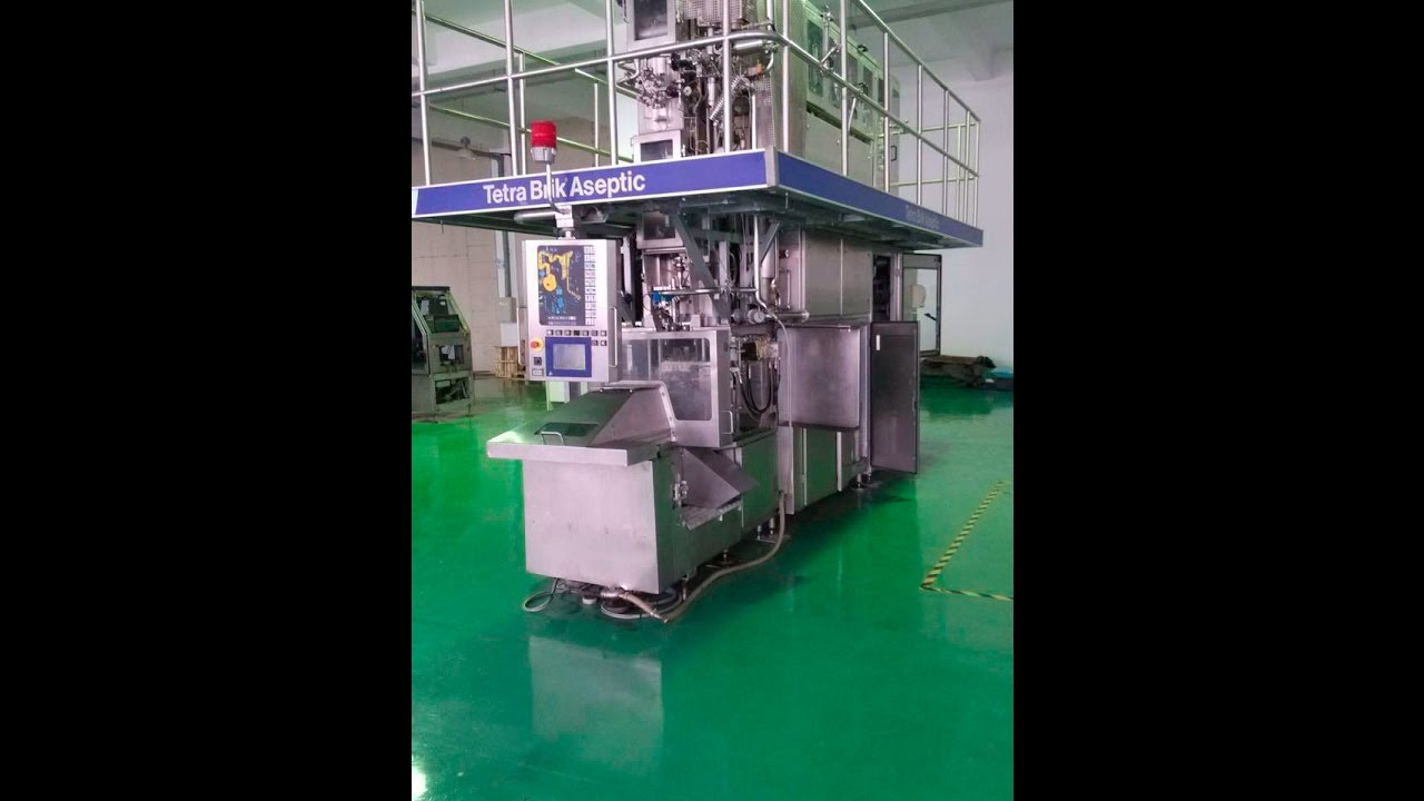 Tetra Pak Filling Machines Tba 19 200ml Price Used For