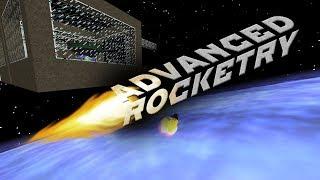[Обзор][1.10.2] Advanced Rocketry - Миссия на газ и другие планеты (часть 3) - S5-EP19
