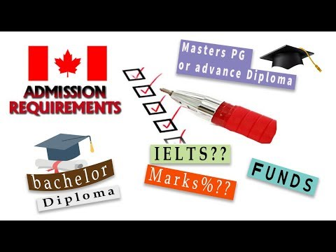 All Admission Requirements To Study In Canada For International Students 2020