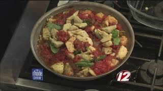 In The Kitchen: Chicken, Artichoke, & Cous Cous Bake