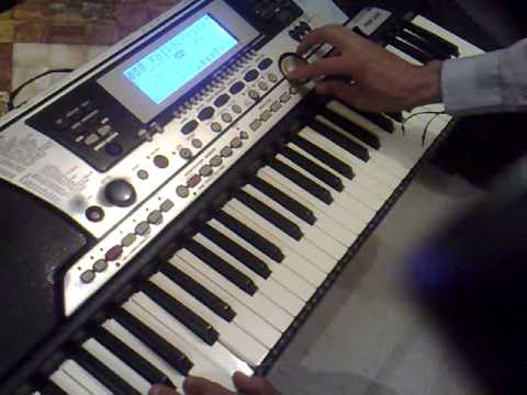 teclado yamaha psr 550 funcionamiento youtube. Black Bedroom Furniture Sets. Home Design Ideas