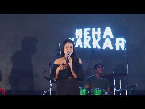 Maahi Ve || By Neha Kakar || Live Show In Barhinda || COLLEGE FEST OF BFGI