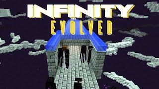 minecraft mods ftb infinity evolved enderman farm e12 modded expert mode
