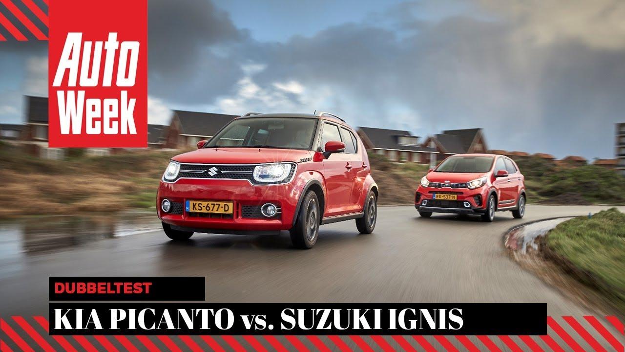 Kia Picanto Review >> Kia Picanto vs. Suzuki Ignis - AutoWeek Review - English ...