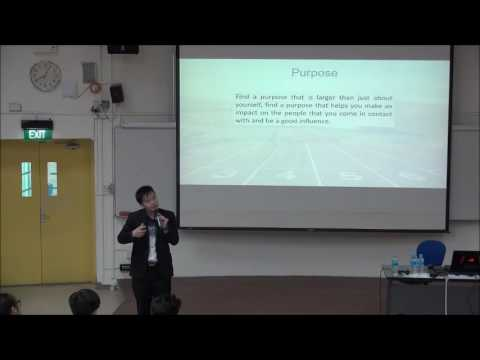 Keynote Speaking at Temasek Junior College: Dare to dream