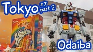 Giant Gundam, Studio Ghibli Clock & Japanese Sweets in Odaiba! Tokyo vlog