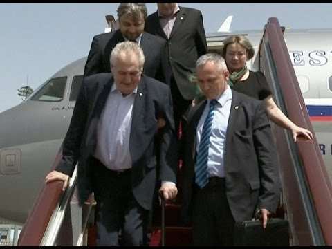 Czech President Arrives in Beijing for Belt and Road Forum