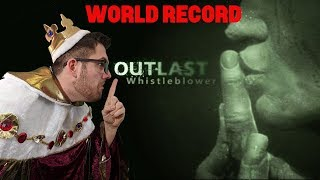 The Outlast King | New World Record Speedrun | Happy Easter! | Outlast Whistleblower Any% Run | Live