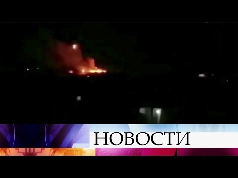 Сирийские зенитчики минувшей ночью отразили ракетную атаку Израиля в районе Алеппо.