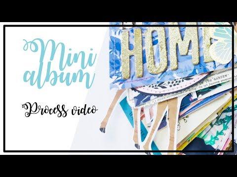 HIP KIT CLUB Design Team - Mini album process 100 - My second home, Pineto